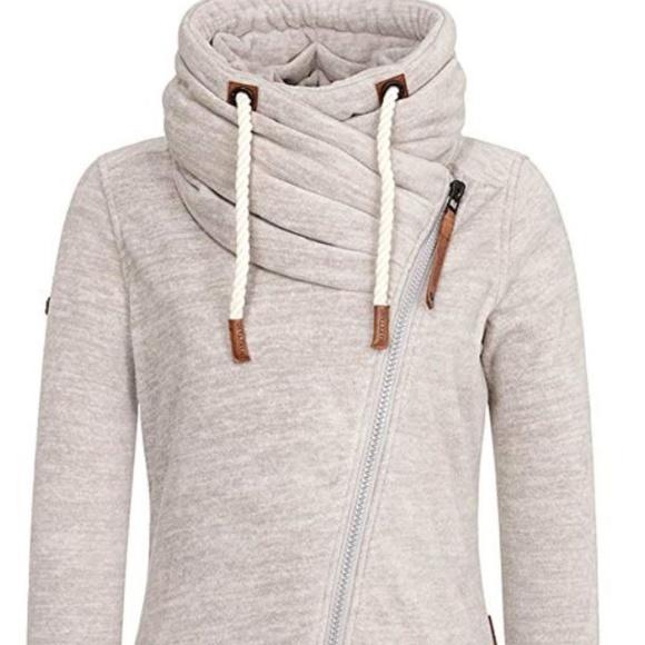 NAKETANO Jüberagend Hooded Jacket for Women Pink